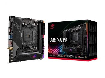 PLACA MAE ASUS ROG STRIX X570-I GAMING DDR4 WI-FI M.2 USB3.1 ITX AM4