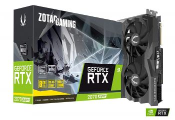 PLACA DE VIDEO ZOTAC RTX 2070 SUPER MINI 8GB GDDR6 256BIT ZT-T20710E-10M