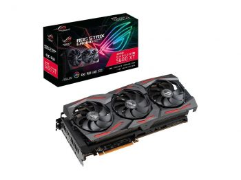 PLACA DE VIDEO ASUS ROG STRIX RX 5600 XT OC EDITION GAMING 6GB GDDR6 PCI-E 4.0