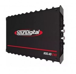 Soundigital SD800.4D Evolution - Módulo Amplificador Digital, 4 Canais até 200W RMS,  - foto principal 1