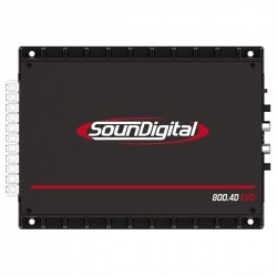 Soundigital SD800.4D Evolution - Módulo Amplificador Digital, 4 Canais até 200W RMS,  - foto principal 2