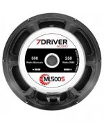Woofer 7 Driver 10 Ml 500s 8ohm 250rms  - foto 2