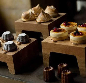 Pin Buffet Ware | Expositor Patisserie 23x23x19cm | Pinheirense