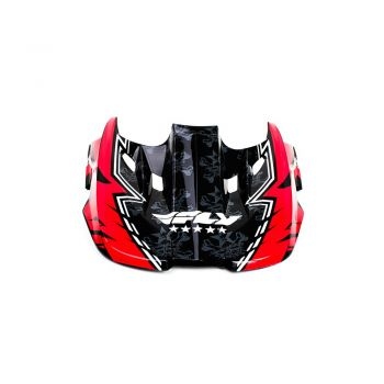Pala Fly Racing para Capacete Fly Kinetic Eletric