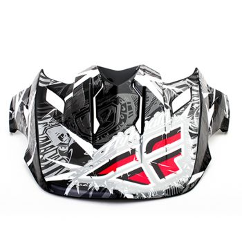 Pala Fly Racing para capacete Fly Trophy 2