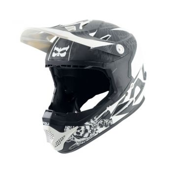 Capacete Bike Full Face Infantil Kali Naka Dark Sphinx