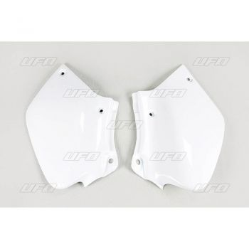 Number Lateral Kit Ufo XR 400R 96/19 + XR 250R 96/19 - Branco