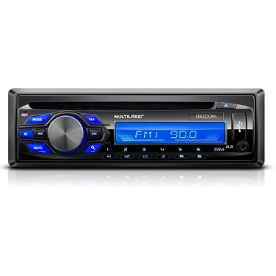 Radio Cd Usb Mp3 Multilaser Freedom P3239 4x25w  - foto principal 1