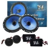 Kit 2 Vias Hurricane Mid Bass 6 Pol / 130w Kit - Cm 6.2