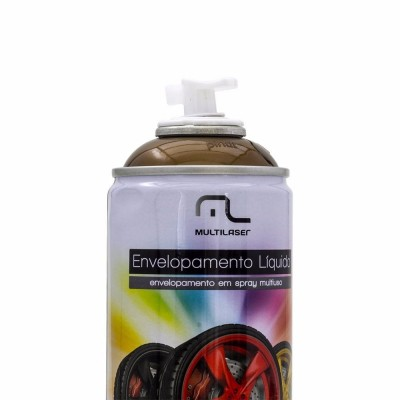 Spray Envelopamento Liquido Dourado 400ml Multilaser  - foto principal 2