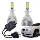 Kit Xenon Super Led H3 12v 30w 6200k - Multilaser Au824