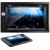 Central Multimidia 2 Din Multilaser Dvd Tv Gps Bluetooth Usb