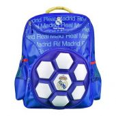Mochila Do Real Madrid Infantil 3d Bola Maccabi art Original