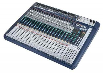 Mesa De Som Soundcraft Signature 22 Bivolt Xlr Mixer Sound vpsom