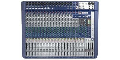Mesa De Som Soundcraft Signature 22 Bivolt Xlr Mixer Sound vpsom 1