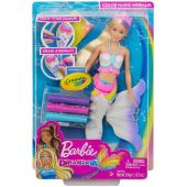 Barbie Sereia Original Color In Mermaid Novo Modelo Gcg67