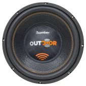 Subwoofer 12 Polegadas  Bomber Outdoor 1200 Watts Rms 2 Ohms