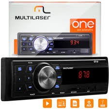 Radio One Multilaser Automotivo Mp3 Player Usb Sd Radio Fm Aux  - foto principal 1