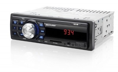 Radio One Multilaser Automotivo Mp3 Player Usb Sd Radio Fm Aux  - foto principal 2