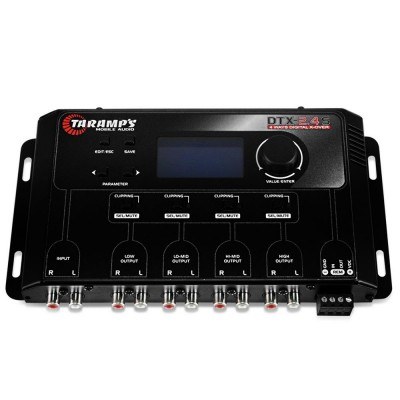 Crossover Taramps DTX 2.4s Digital 4 Vias Tela Display Lcd - DTX2.4  - foto principal 3