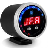 Voltimetro Jfa Automotivo Bat Meter 12V Digital Display Vermelho