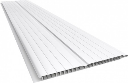 Forro PVC 8X200mm Liso Branco Polifort M2