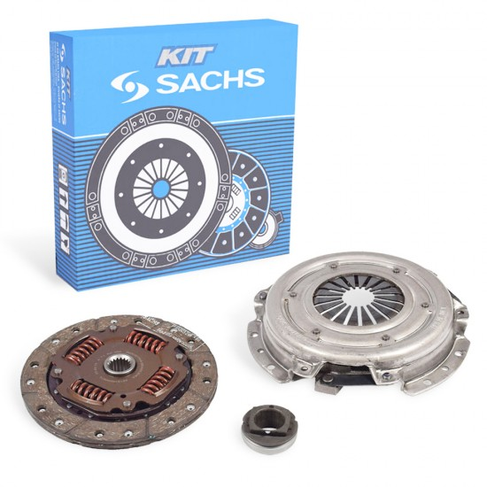 Kit Embreagem Sachs Peugeot 206 207 1.4 99/07 Disco 200 mm Rolamento c/Abas 6480