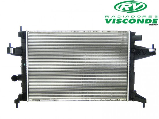 Radiador Visconde VW Apollo 1.6 1.8 89/92 Ford Escort 1.6 1.8 89/92 12283