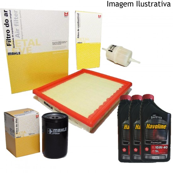 Kit Revisão Fiat Palio Weekend Siena Strada Fire 1.0 1.3 8v 16v 2001/2004