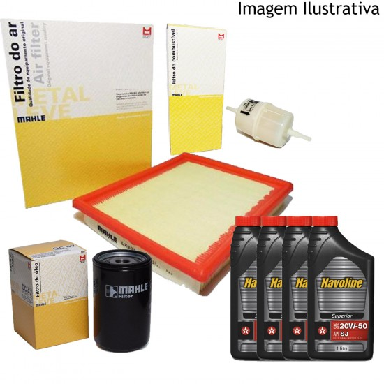 Kit Revisão VW Santana Quantum 2.0 AP Gasolina 96/01