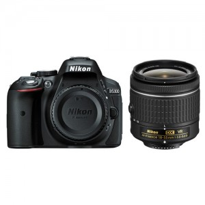 Câmera Digital Nikon DSLR D5300 - 24.2Mp. - Com lente Af-p Dx 18-55mm Vr