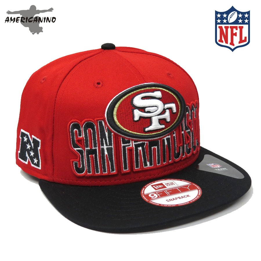 Please upgrade to full version of Magic Zoom Plus™. Foto 1 do produto Boné  NEW ERA SnapBack SAN FRANCISCO 49ERS ce399d42183