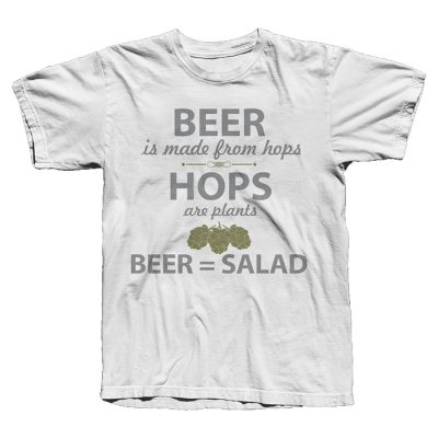 Camiseta Beer Salad (Branca)