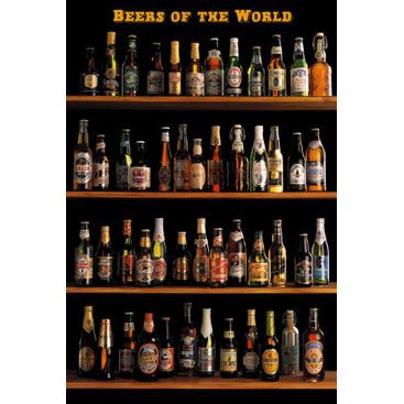 Poster Beers of the World (vertical)