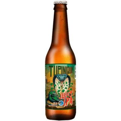 Tupiniquim Juicy IPA - 350 ml  - foto 1