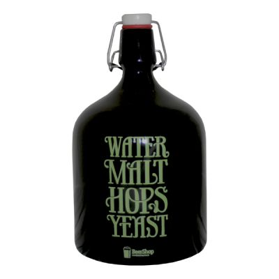 Growler Cerveja Water,Malt,Hops,Yeast