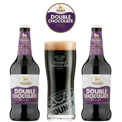 Kit Young's Double Chocolate 2 Cervejas + 1 Copo