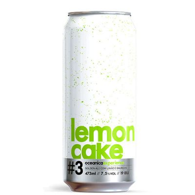 Oceânica Lemon Cake Lata - 473 ml