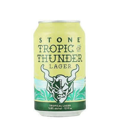 Stone Tropic Of Thunder Lager - Lata 355 ml