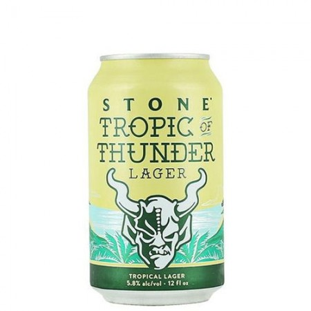 Stone Tropic Of Thunder Lager - Lata 355 ml  - foto principal 1
