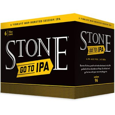 6 Pack Stone Go To IPA