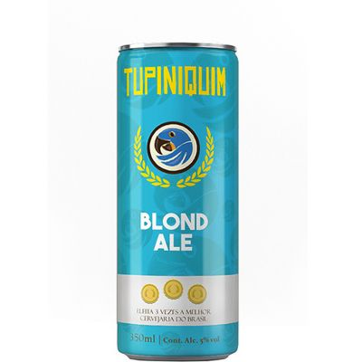 Tupiniquim Blond Ale - Lata 350 ml