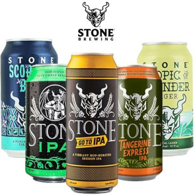 Kit Stone Brewing - 5 Cervejas