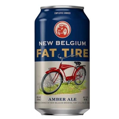 New Belgium Fat Tire Amber Ale Lata 355ml