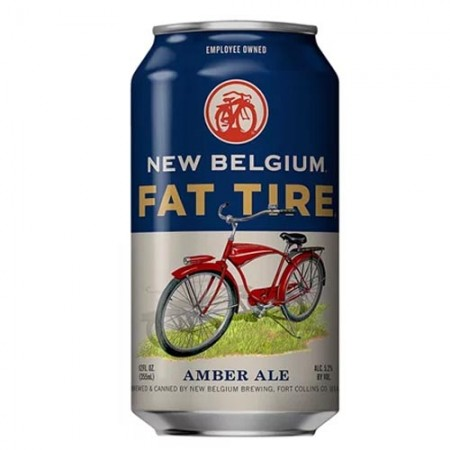 New Belgium Fat Tire Amber Ale Lata 355ml  - foto principal 1