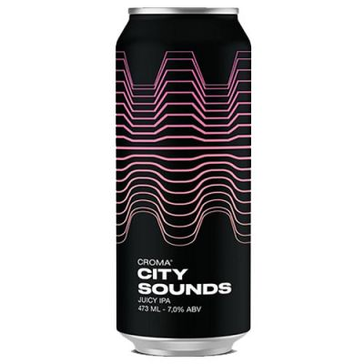 Croma City Sounds Juicy IPA - Lata 473ml