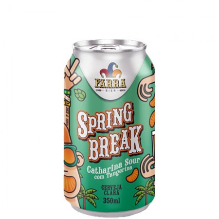 Farra Spring Break Lata 350 ml  - foto principal 1