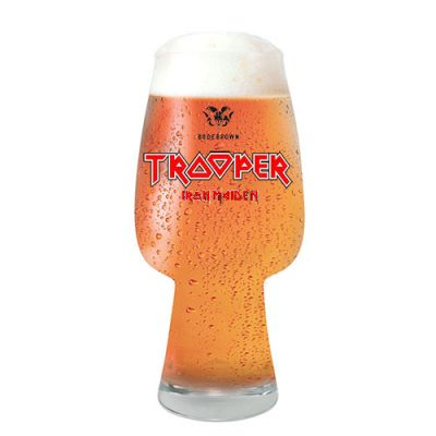 Copo Trooper Iron Maiden IPA Brasil 400 ml