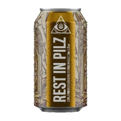 Dogma Rest In Pilz Czech Pilsner - Lata 350ml