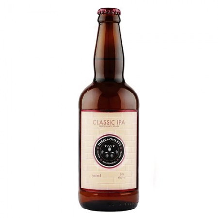 Three Monkeys Classic IPA - 500 ml  - foto principal 1
